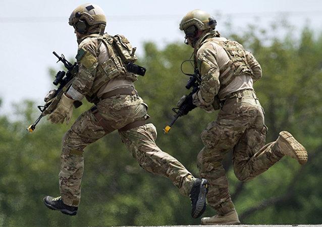 Militares estadounidenses, foto de archivo
