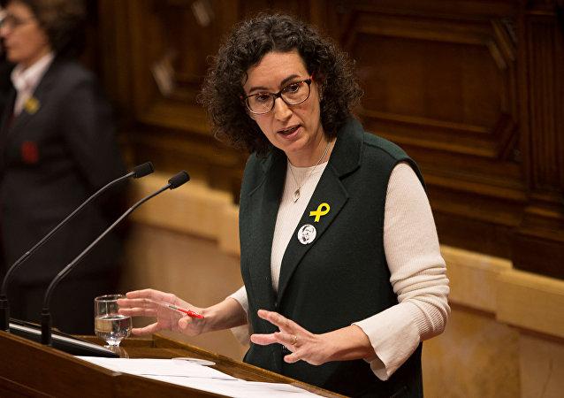 Marta Rovira, secretaria general de la Esquerra Republicana de Catalunya (ERC)
