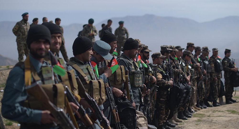 Soldados afganos (archivo)
