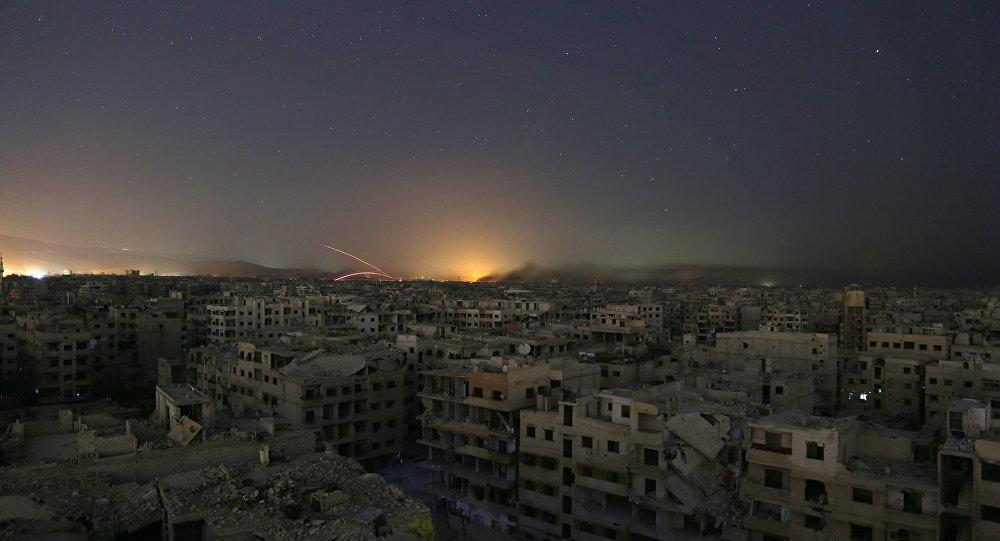 Situación en Guta Oriental, Siria (archivo)