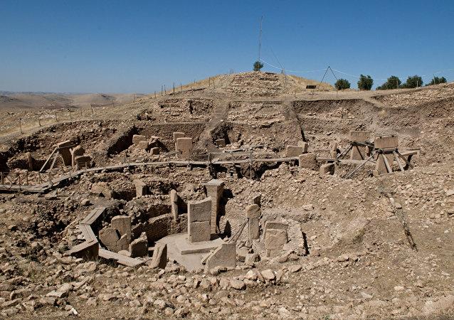 El complejo de Gobekli Tepe, Turquía
