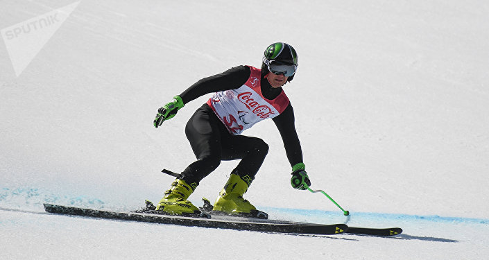Alexéi Bugáev, esquiador alpino ruso