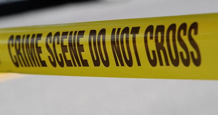 La cinta del sitio de crimen, imagen referencial