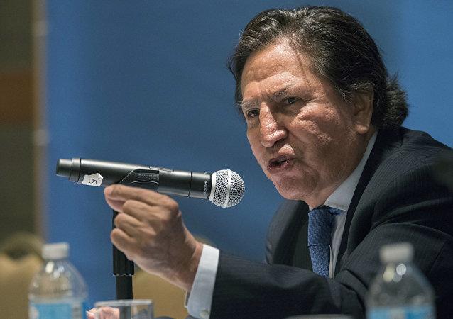 Alejandro Toledo, expresidente de Perú (archivo)