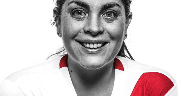 Jessica Lapeyre, hincha de la selección peruana de fútbol