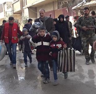Unos 50 civiles abandonaron Guta Oriental este miércoles
