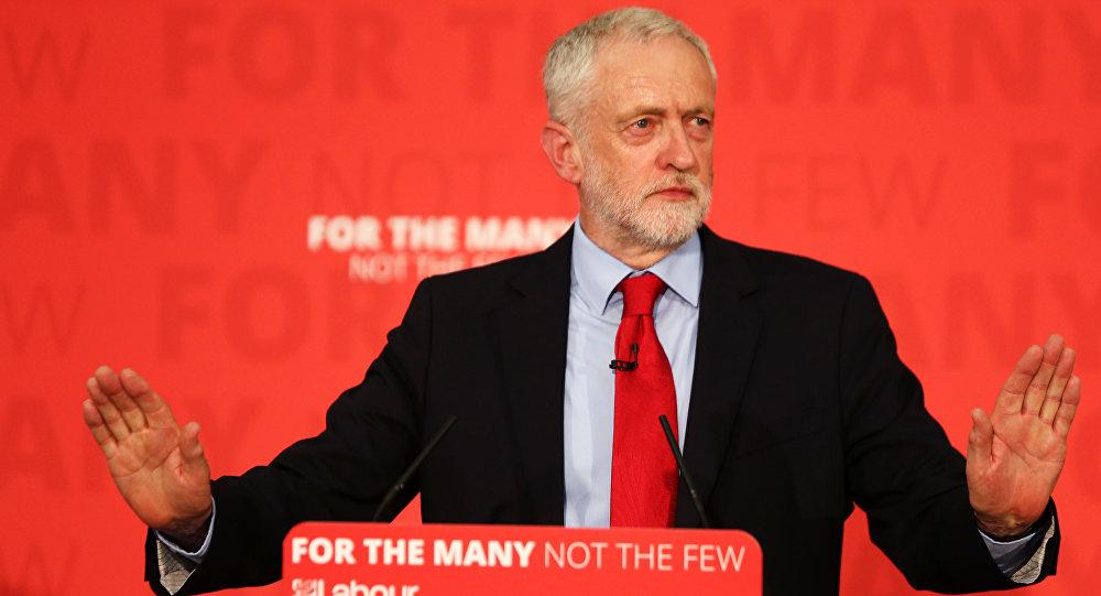 El líder laborista, Jeremy Corbyn
