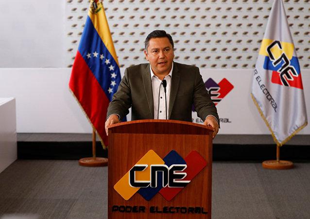 Javier Bertucci, candidato a la presidencia de Venezuela de la organización Esperanza por el Cambio