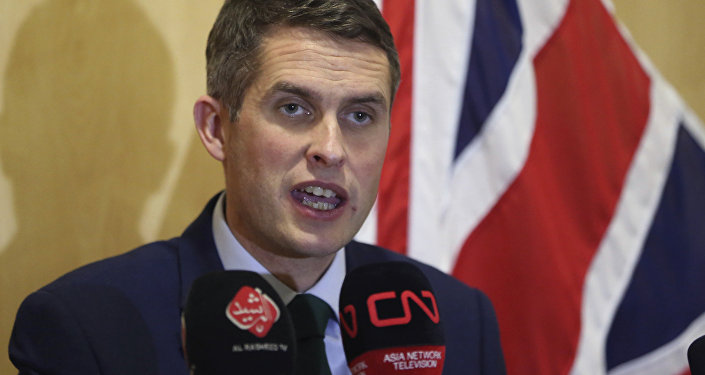 Gavin Williamson, ministro de Defensa británico