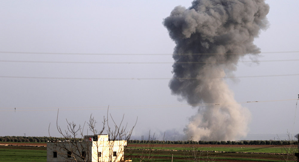 Ataques turcos en Siria