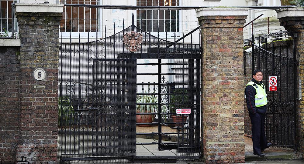 La embajada de Rusia en Londres