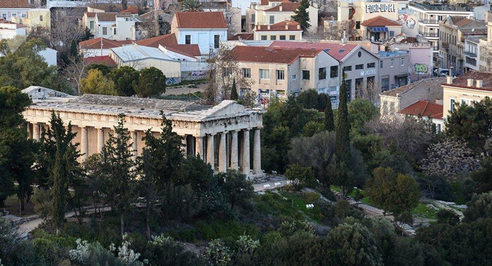 Atenas, la capital de Grecia