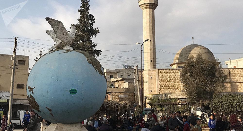 La ciudad de Afrín, Siria