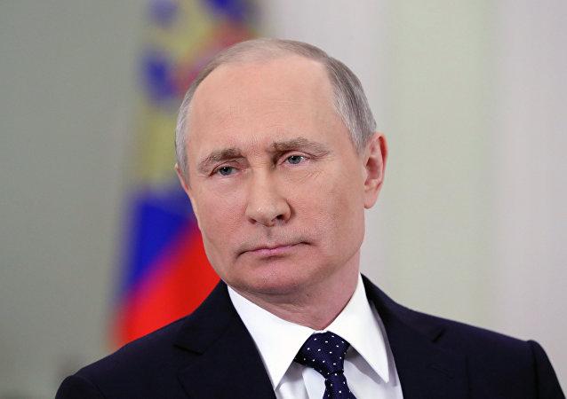 El mandatario ruso, Vladímir Putin