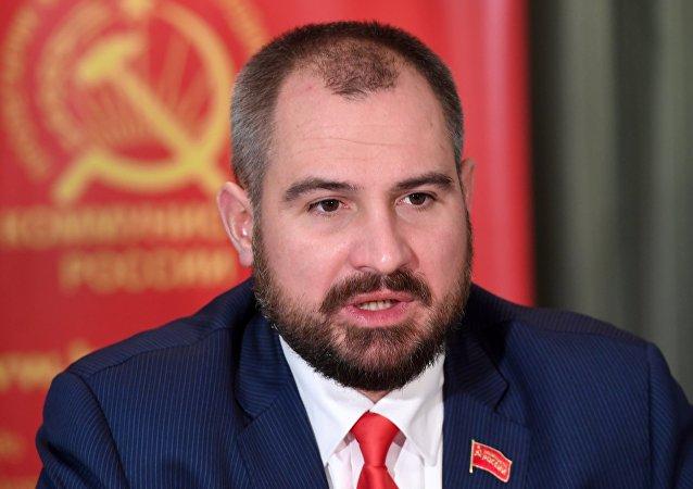 Maxim Suraikin, candidato a la presidencia de Rusia (archivo)