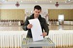 Votación en la República rusa de Crimea