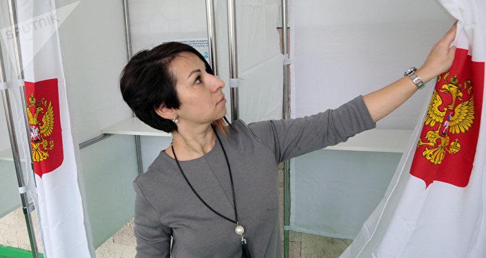 Elecciones presidenciales en Crimea, Rusia