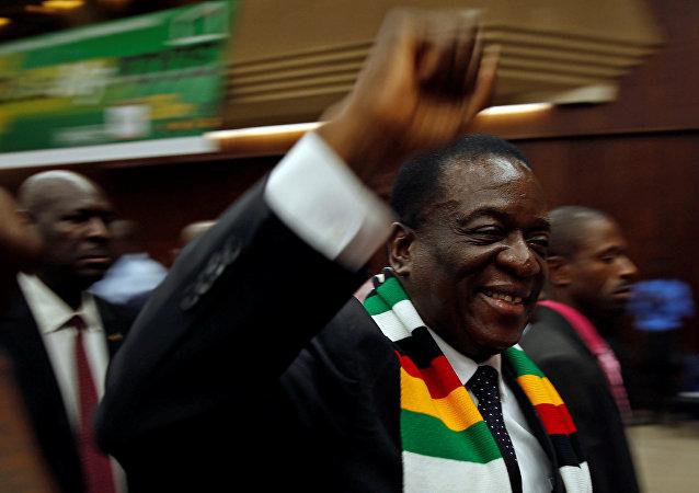Emmerson Mnangagwa, presidente de Zimbabue