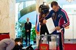 Elecciones presidenciales rusas en Washington, EEUU
