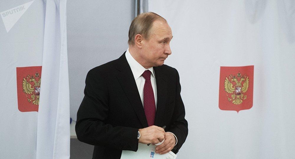 Vladímir Putin, actual presidente de Rusia