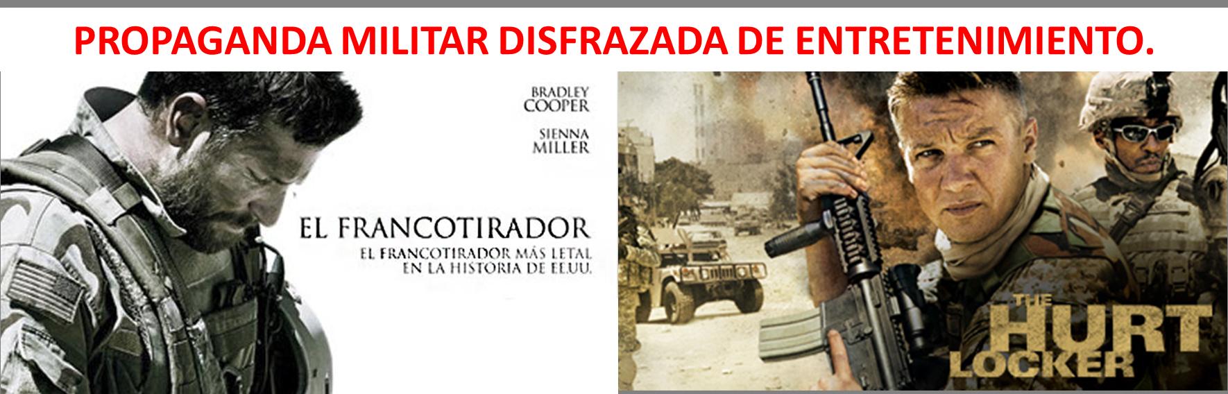 Propaganda militar disfrazada de entretenimiento