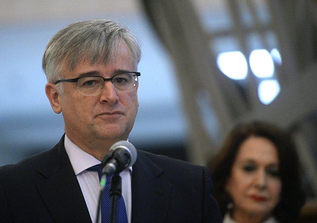 Ignacio Ybáñez Rubio, el embajador español en Rusia