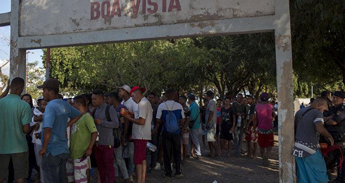 Refugiados venezolanos en Brasil
