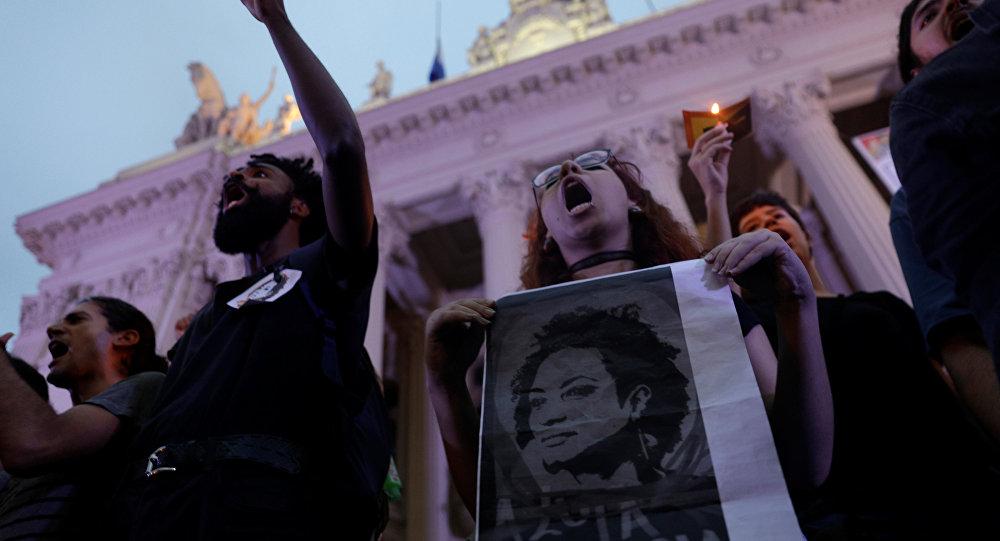 Emotivo homenaje de Katy Perry a Marielle Franco en Río de Janeiro