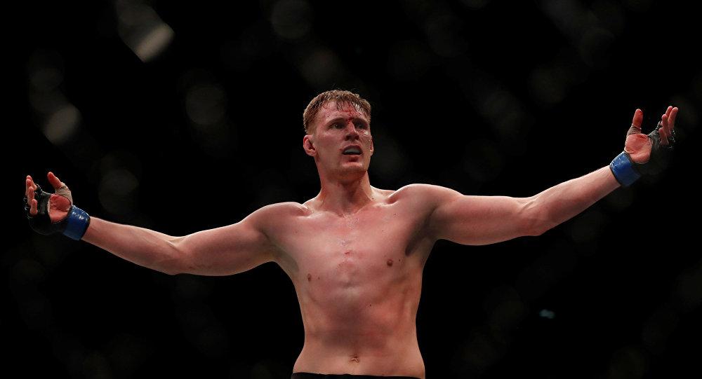 Aleksandr Vólkov, peleador ruso de artes marciales mixtas