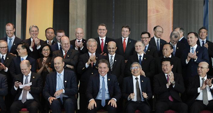 Ministros de finanzas y presidentes de Bancos Centrales reunidos en Cumbre del G-20 en Argentina