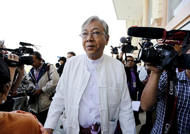 Htin Kyaw, presidente de Birmania