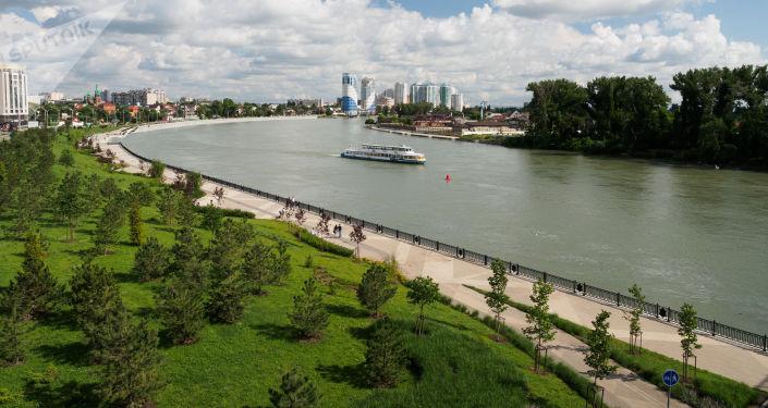 La ciudad rusa de Krasnodar