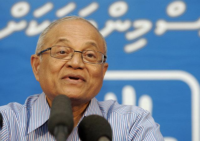 Maumoon Abdul Gayoom, expresidente de Maldivas (archivo)