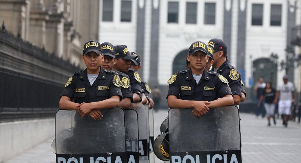 La policía de Perú