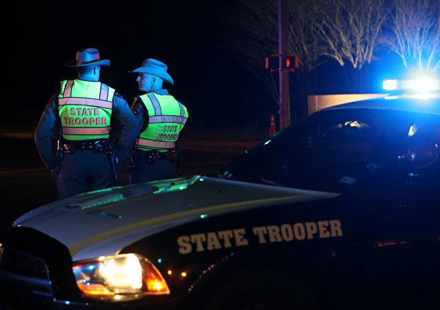 La policía en Texas, EEUU