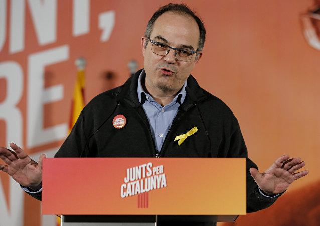 Jordi Turull, diputado independentista
