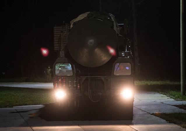 Sistema de misiles RS-24 Yars (archivo)
