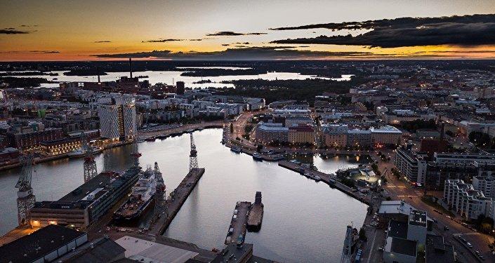 Ciudad de Helsinki, Finlandia