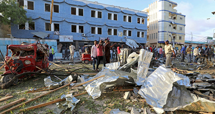 Explosión de coche bomba en Somalia