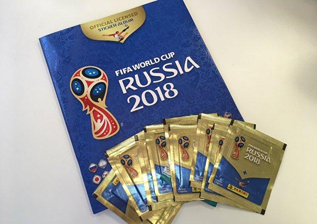 Álbum de figuritas de Rusia 2018