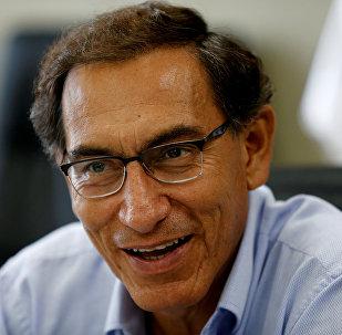 Martín Vizcarra, vicepresidente de Perú (archivo)
