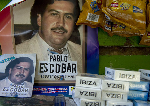 Un póster de Pablo Escobar (imagen ilustrativa)