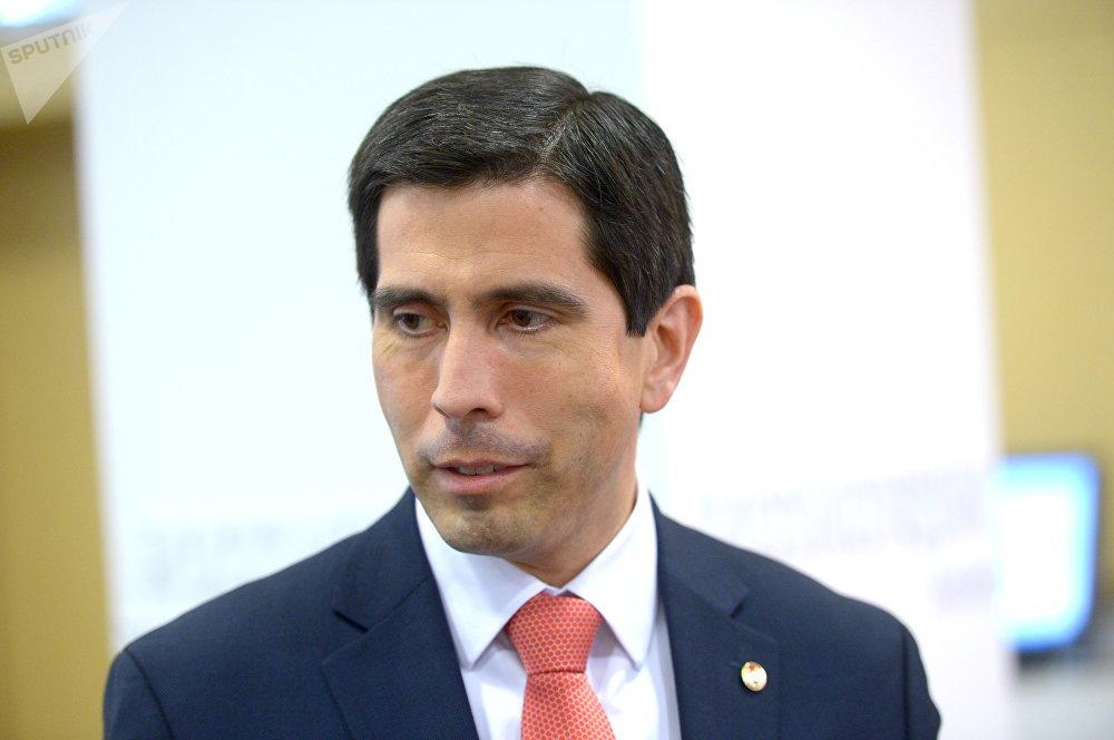 Federico González Franco, viceministro de Relaciones Exteriores de Paraguay