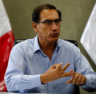 Martín Vizcarra, presidente en funciones de Perú