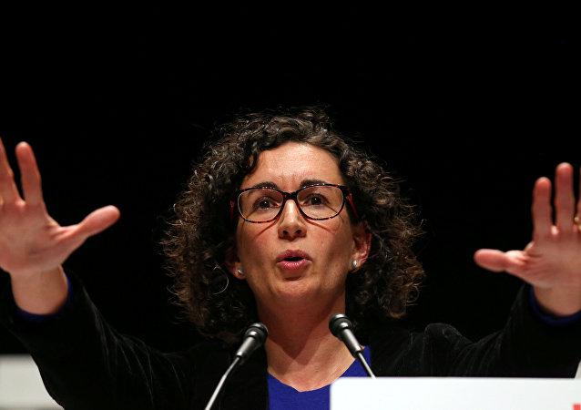 Marta Rovira, secretaria general de la Esquerra Republicana de Catalunya (archivo)
