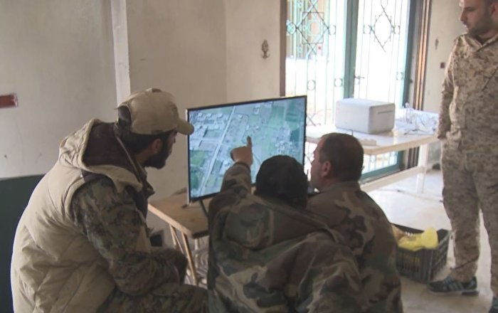 Drones al servicio del Ejército en Guta Oriental