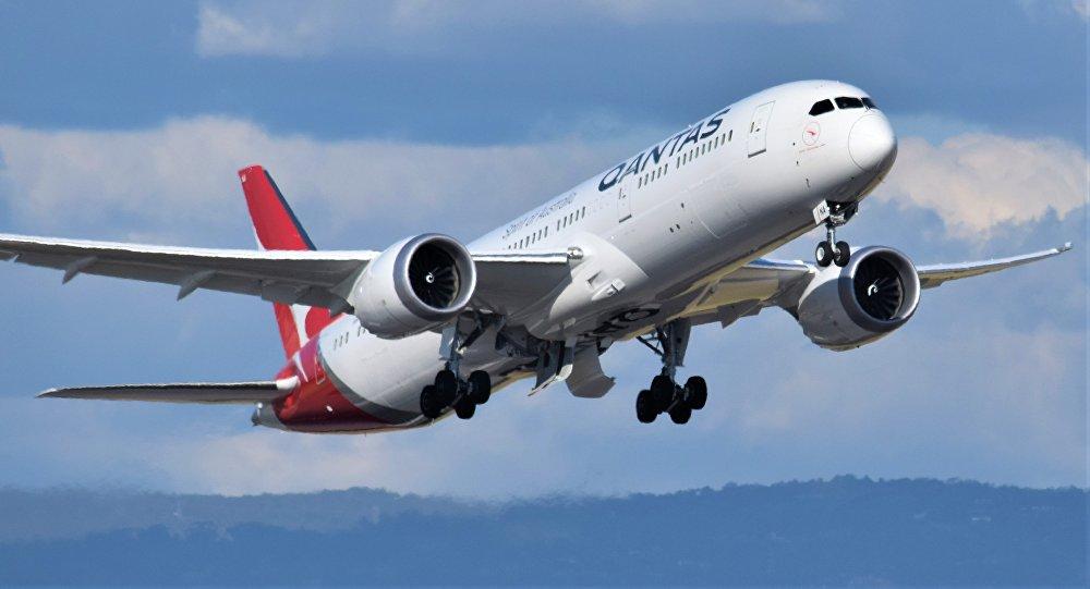 El Boeing-787 (imagen referencial)