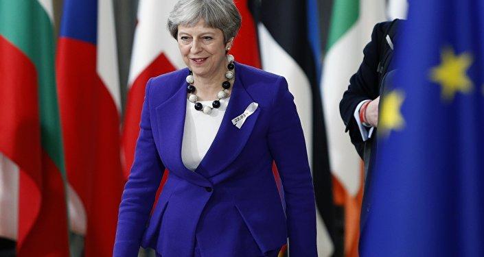 Theresa May, primera ministra de Reino Unido (archivo)
