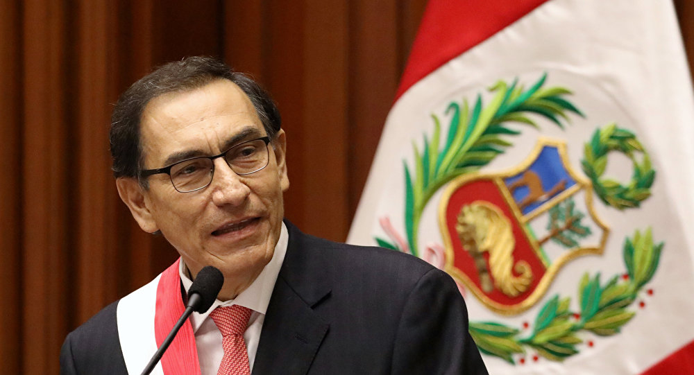 Martín Vizcarra, el presidente de Perú