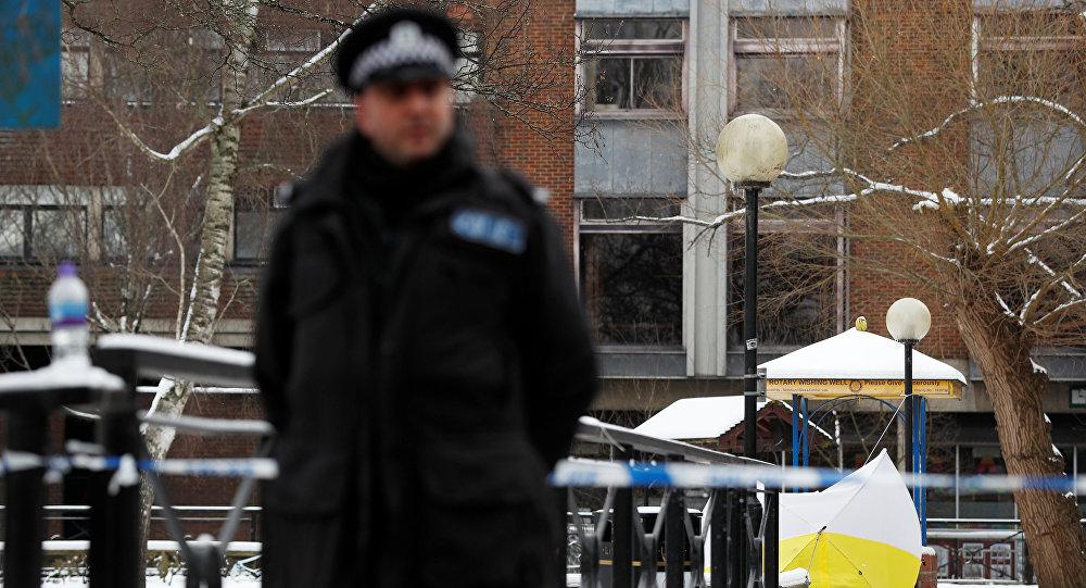 El lugar del envenenamiento del exagente ruso Serguéi Skripal